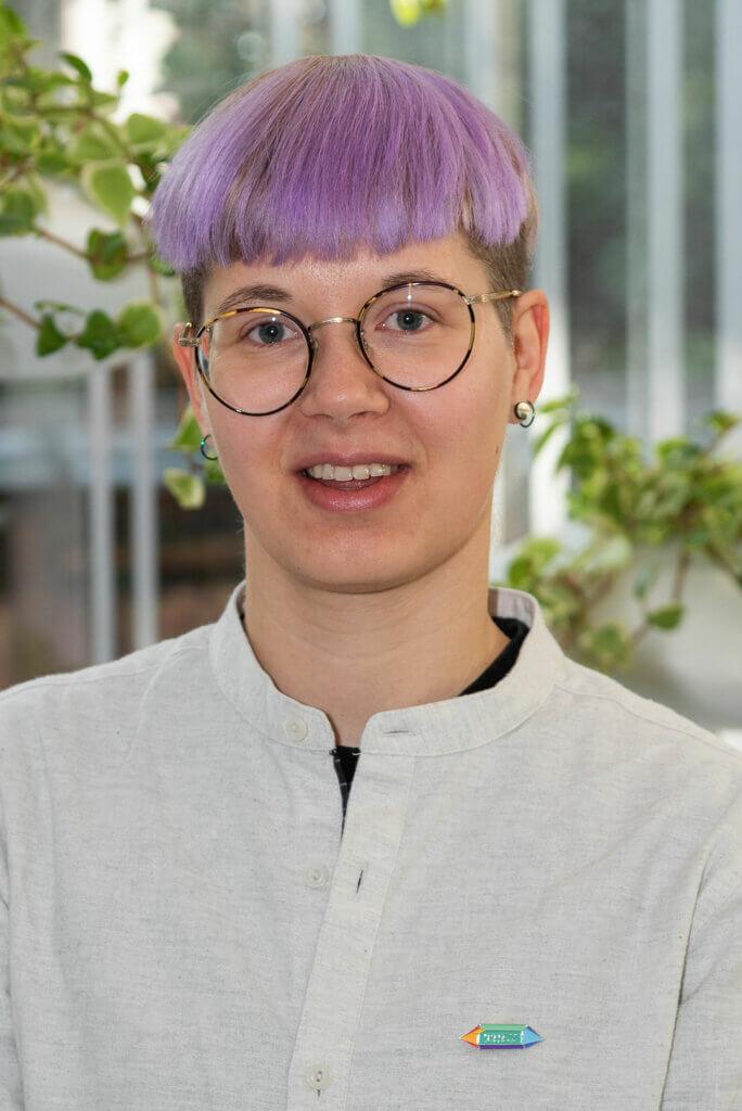 Porträt von Elis Eder